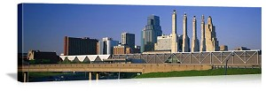 Kansas City, Missouri Bartle Hall Panorama Picture