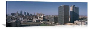 Kansas City, Missouri Crown Center Panorama Picture