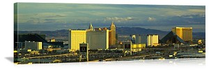 Las Vegas, Nevada Afternoon on The Strip Panorama Picture