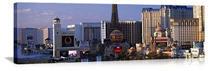 Las Vegas, Nevada Casinos On The Strip Panorama Picture
