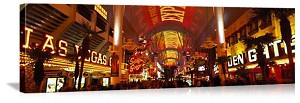 Las Vegas, Nevada Fremont Street Experience Panorama Picture