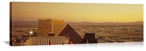 Las Vegas, Nevada Hotels on the Skyline Panorama Picture