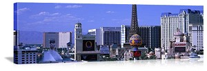 Las Vegas, Nevada Paris Hotel Skyline Panorama Picture