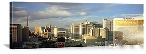 Las Vegas, Nevada The Mirage Skyline Panorama Picture