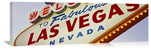 Las Vegas, Nevada Welcome Sign Panorama Picture