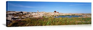 Hallo Island Lighthouse Bohuslaen Sweden Picture