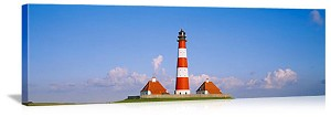 Westerhever Lighthouse Schleswig-Holstein Germany Picture