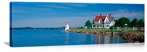 Charolettetown Prince Edward Island Lighthouse Canada Picture