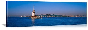 Leanders Tower Lighthouse Istanbul Turkey Picture
