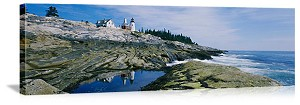 Pemaquid Point Lighthouse Maine Picture