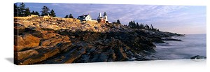 Lighthouse In Maine Picture