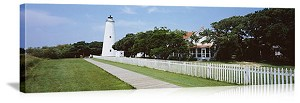 Ocracoke Lighthouse Outer Banks North Carolina Picture