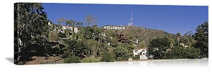 Los Angeles, California Hollywood Hills Panorama Picture