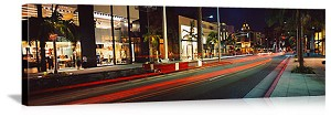 Los Angeles, California Rodeo Drive Panorama Picture