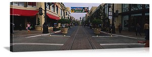 Los Angeles, California The Grove Panorama Picture