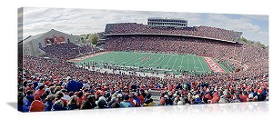 Madison, Wisconsin Camp Randall Game Day Panorama Picture