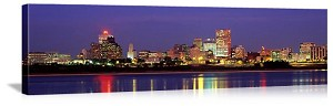 Memphis, Tennessee Waterfront At Dawn Panorama Picture