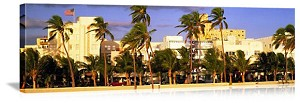 Miami, Florida Ocean Drive South Beach Panorama Picture