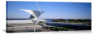 Milwaukee, Wisconsin Milwaukee Art Museum Panorama Picture