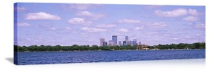 Minneapolis, Minnesota Chain Of Lakes Park Panorama Picture