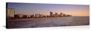 Myrtle Beach, South Carolina Waterfront Skyline Panorama Picture
