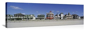 Cape May, New Jersey Main Street Panorama Picture