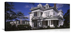 New Orleans, Louisiana Residential Architecture Panorama Picture