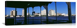New Orleans, Louisiana Canal Street Ferry Panorama Picture