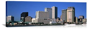 New Orleans, Louisiana City Skyline Panorama Picture