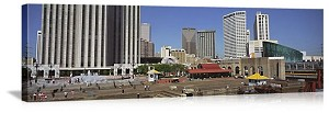New Orleans, Louisiana  Downtown Plaza Panorama Picture