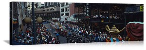 New Orleans, Louisiana Mardi Gras Parade Panorama Picture