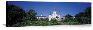 New Orleans, Louisiana Saint Louis Cathedral Panorama Picture