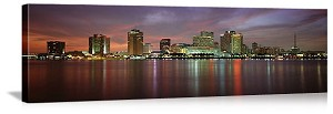 New Orleans, Louisiana Waterfront Skyline Panorama Picture