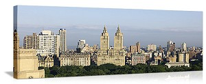 New York, New York The Dakota Central Park West Panorama Picture