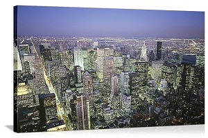 New York, New York Skyline Spectacular Panorama Picture