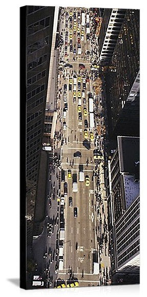 New York, New York Avenue of the Americas Panorama Picture