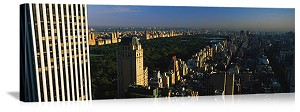 New York, New York Dawn Over Central Park Panorama Picture