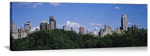 New York, New York Central Park City Skyline Panorama Picture