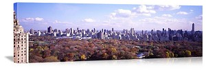 New York, New York Autumn in Central Park Panorama Picture