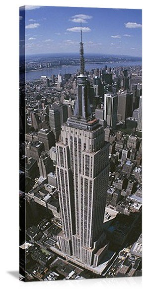 New York, New York Empire State Building Rising Panorama Picture