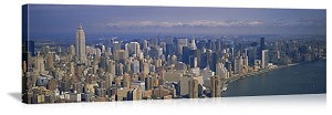 New York, New York Empire State Skyline Panorama Picture