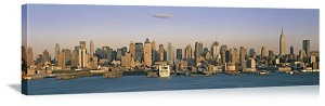 New York, New York East River Skyline Panorama Picture