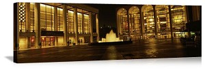 New York, New York Lincoln Center Panorama Picture