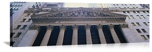 New York, New York Stock Exchange Panorama Picture