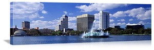Orlando, Florida City Skyline Panorama Picture