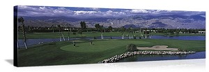 Palm Springs, California Golf Course Panorama Picture