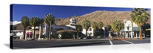 Palm Springs, California Downtown Palm Springs Panorama Picture