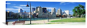 Saint Paul, Minnesota Downtown Skyline Panorama Picture
