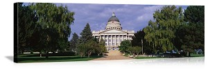 Salt Lake City, Utah State Capitol Building Panorama Picture
