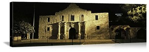 San Antonio, Texas The Alamo Mission Panorama Picture